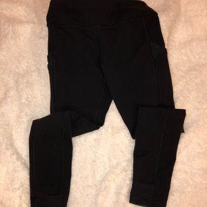 Ivivva Black Leggings with pockets